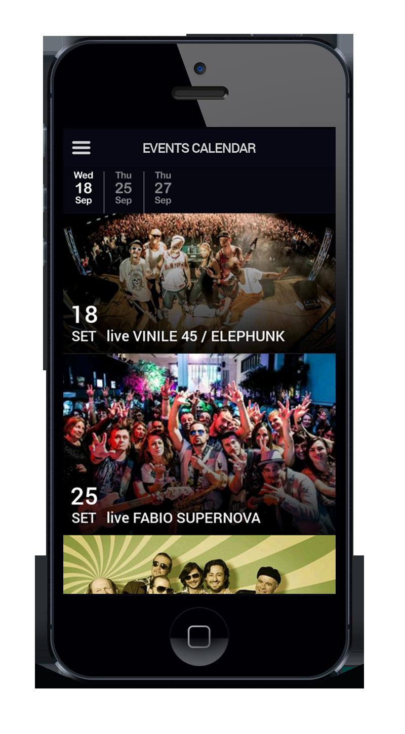 App mobile per discoteche